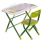 Набор мебели «Веселая Азбука», регулировка угла наклона, подставка для ног, подставка для книг, стул, 3 – 7, фото 2