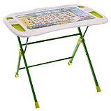 Набор мебели «Веселая Азбука», регулировка угла наклона, подставка для ног, подставка для книг, стул, 3 – 7, фото 4