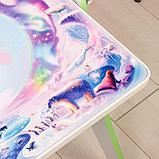 Набор мебели «Части-света»: парта, мольберт, стульчик. Цвет салатовый, фото 5