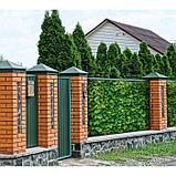 Фотобаннер, 250 × 200 см, с фотопечатью, люверсы шаг 1 м, «Зелёная стена», фото 2