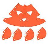 Клумба конусная, d = 10–30 см, h = 60 см, красная, фото 5