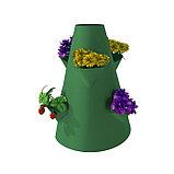 Клумба конусная, d = 15–45 см, h = 60 см, зелёная, фото 2