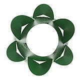 Клумба конусная, d = 15–45 см, h = 60 см, зелёная, фото 3