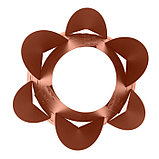 Клумба конусная, d = 15–45 см, h = 60 см, коричневая, фото 3