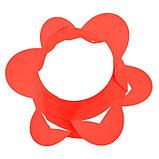 Клумба конусная, d = 15–45 см, h = 60 см, красная, фото 3