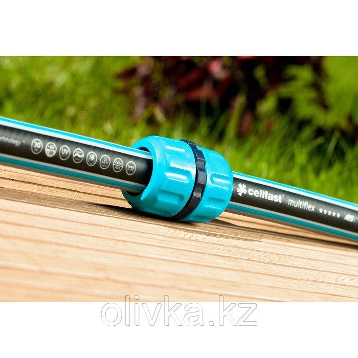 "Муфта-соединитель, 1/2"" (12 мм), пластик, Cellfast"