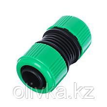 "Муфта-соединитель, 1"" (25 мм) – 1"" (25 мм), цанга, пластик"
