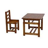 Комплект детской мебели Фея «Растём вместе», цвет орех, фото 4