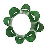 Клумба конусная, d = 20–60 см, h = 60 см, зелёная, фото 3