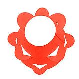 Клумба конусная, d = 20–60 см, h = 60 см, красная, фото 3