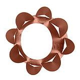 Клумба конусная, d = 20–60 см, h = 60 см, коричневая, фото 3