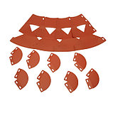 Клумба конусная, d = 20–60 см, h = 60 см, коричневая, фото 5
