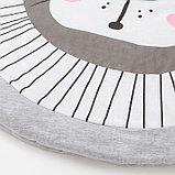 """Коврик детский игровой Крошка Я """"Левушка"""", d 90 см, 100% хлопок, фото 2"""