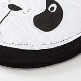 """Коврик детский игровой Крошка Я """"Панда"""", d 90 см, 100% хлопок, фото 2"""