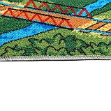 Палас «Малиновка», 200х350 см, зелёный, фото 2