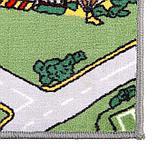 Палас велюровый «Лунапарк», размер 200х300 см, цвет зелёный, полиамид, фото 2