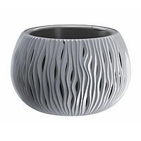 Кашпо для цветов SANDY BOWL DSK290-405U серый 2 предмета 3,9л