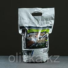 Мраморный щебень серый, фракция 5-10, 10 кг