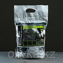 Мраморный щебень черный, фракция 10-20, 10 кг