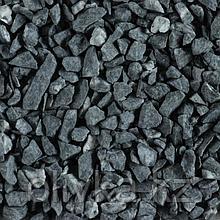 Мраморный щебень чёрный, фракция 5-10, 10 кг