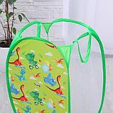 Корзина для игрушек «Динозаврия» 57х34х34 см, фото 2