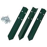 Клумба оцинкованная, d = 140 см, h = 15 см, зелёная, Greengo, фото 2