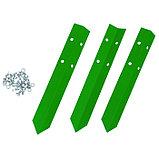 Клумба оцинкованная, 2 яруса, d = 60–80 см, h = 30 см, ярко-зелёная, Greengo, фото 2