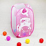 Корзина для игрушек «Котик», фото 2