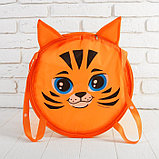 Корзина для игрушек «Тигр», с ручками и крышкой, 33 х 43 см, фото 2