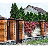 Фотобаннер, 300 × 200 см, с фотопечатью, люверсы шаг 1 м, «Стена с цветами», фото 2