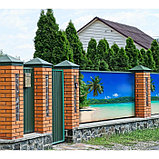 Фотобаннер, 300 × 200 см, с фотопечатью, люверсы шаг 1 м, «Пляж», фото 2