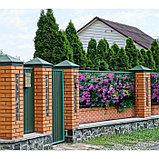 Фотобаннер, 300 × 200 см, с фотопечатью, люверсы шаг 1 м, «Фиолетовые цветы», фото 2