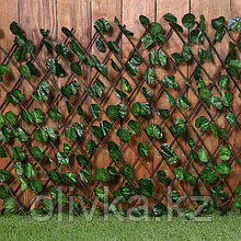 Ограждение декоративное, 200 × 75 см, «Лист ольхи», Greengo