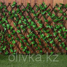 Ограждение декоративное, 200 × 75 см, «Виноград», Greengo