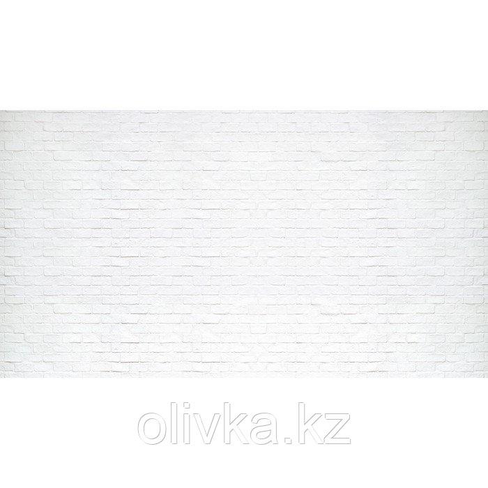 Фотобаннер, 300 × 200 см, с фотопечатью, люверсы шаг 1 м, «Белый кирпич»