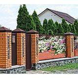 Фотобаннер, 300 × 200 см, с фотопечатью, люверсы шаг 1 м, «Весенние цветы», фото 2