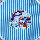 Корзина с замочком «Спят любимые игрушки», 43х42 см, фото 2