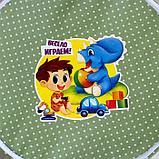 Корзина с замочком «Весело играем», 43х42 см, фото 2