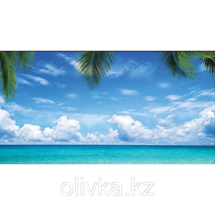 Фотобаннер, 300 × 200 см, с фотопечатью, люверсы шаг 1 м, «Море»