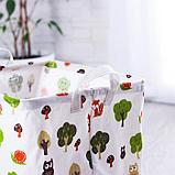 Корзинка для игрушек «Лес» 32×32×32 см, фото 2