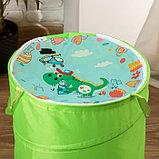 """Корзина для игрушек """"Динозавр"""" 35×35×45 см, фото 2"""