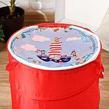 """Корзина для игрушек """"Пираты"""" 35×35×45 см, фото 2"""