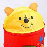 "Корзина для игрушек ""Мои игрушки"" Медвежонок, фото 3"