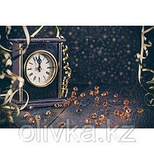 Фотобаннер, 300 × 200 см, с фотопечатью, люверсы шаг 1 м, «Часы 12 бьют»