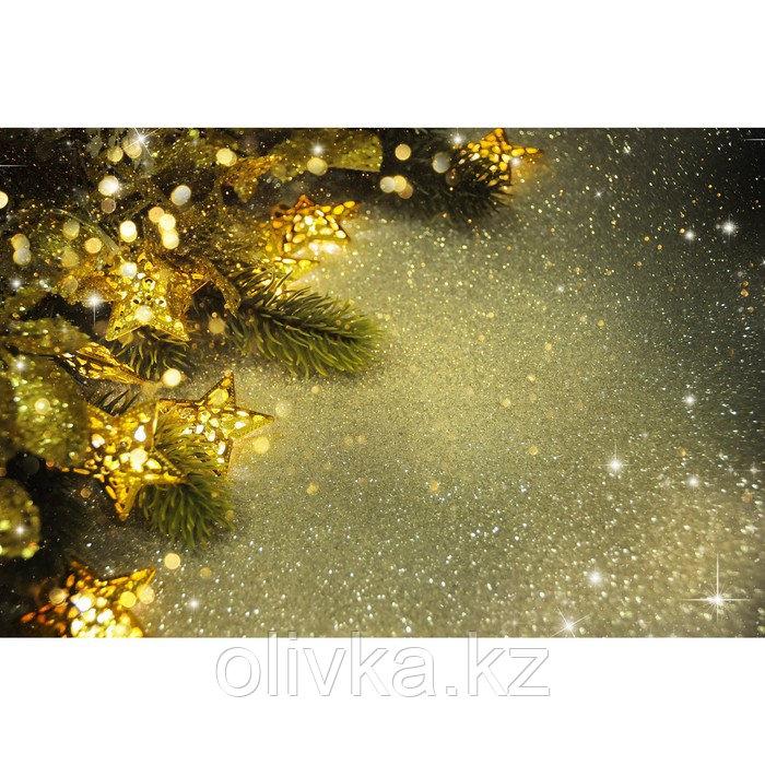Фотобаннер, 300 × 200 см, с фотопечатью, люверсы шаг 1 м, «Светящиеся звёзды»