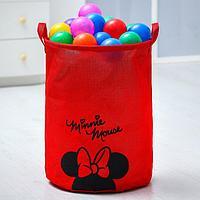 "Корзина текстильная ""Minnie Mouse"" Минни Маус, 45*35*35 см"