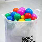 "Корзина текстильная ""Don't touch"" Микки Маус, 45*35*35 см, фото 3"