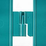 Ограждение декоративное, 35 × 210 см, 5 секций, пластик, бирюзовое, RENESSANS, Greengo, фото 5