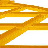 Ограждение декоративное, 35 × 232 см, 4 секции, пластик, жёлтое, MODERN, Greengo, фото 4