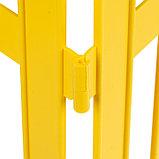 Декоративный забор для сада и огорода, 35 × 210 см, 5 секций, пластик, жёлтый, GOTIKA, Greengo, фото 5
